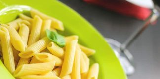 penne pasta probiotik italia