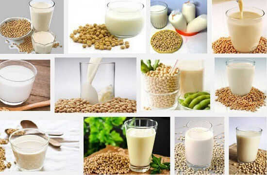segelas sari kedelai tanpa gula mengandung sekitar 7 gram protein